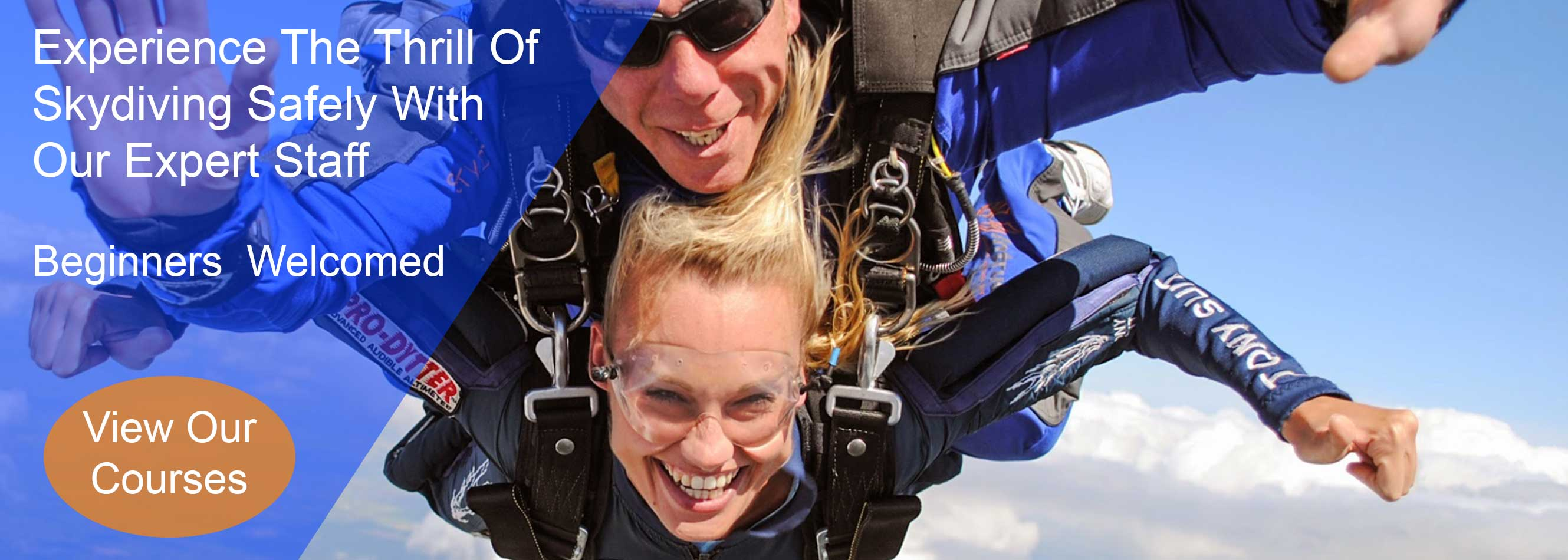 Experience the thrill of skydiving safely with our expert staff at Skydive.ie and the Irish Parachute Club
