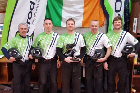 H40 IRISH NATIONAL SKYDIVING TEAM